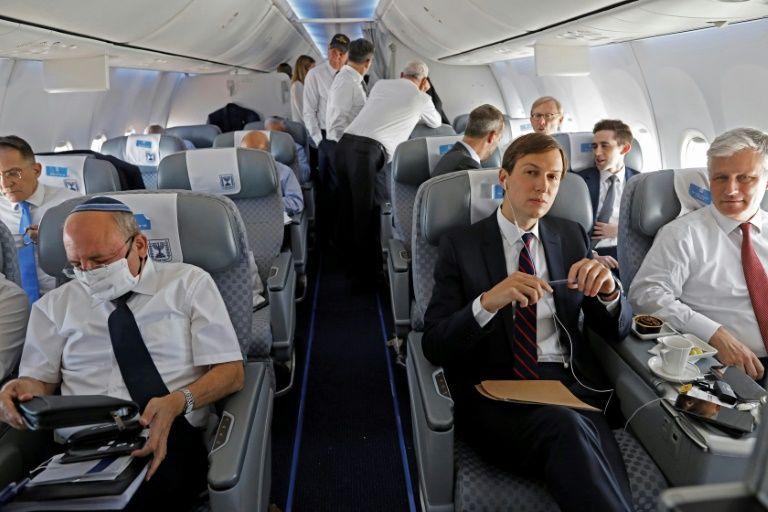 35b4fc5c7587b709e542fa8251be471a - US-Israeli delegation lands in Abu Dhabi on historic flight