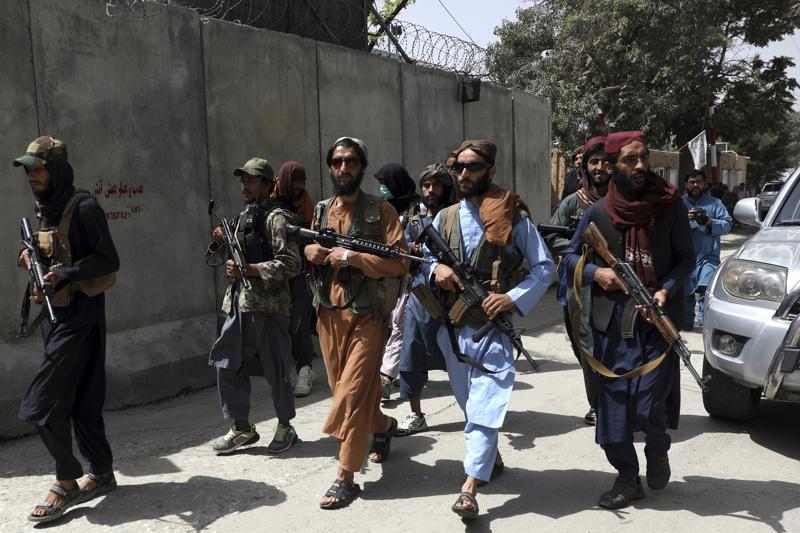 800 - Taliban militants violently disperse rare Afghan protest